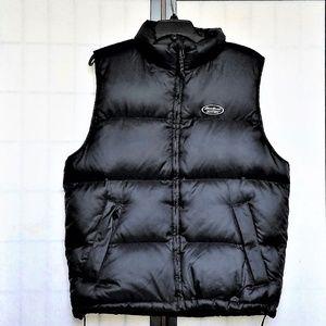 Men's Puffer Vest Goose Down Eddie Bauer S/P Black